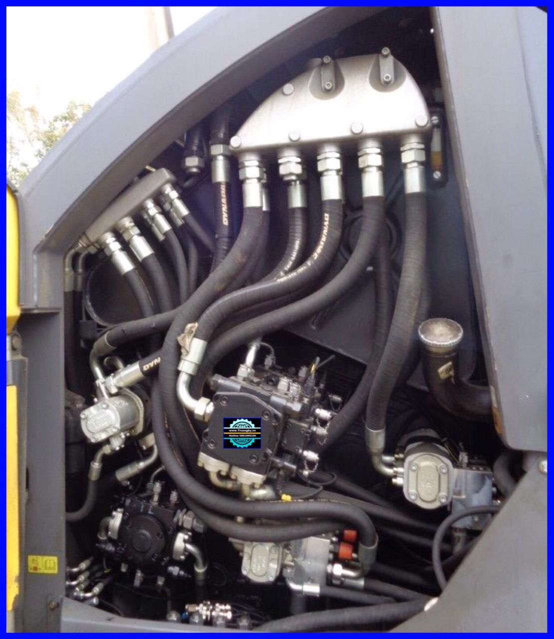 Máy rải Dynapac SD2500CS