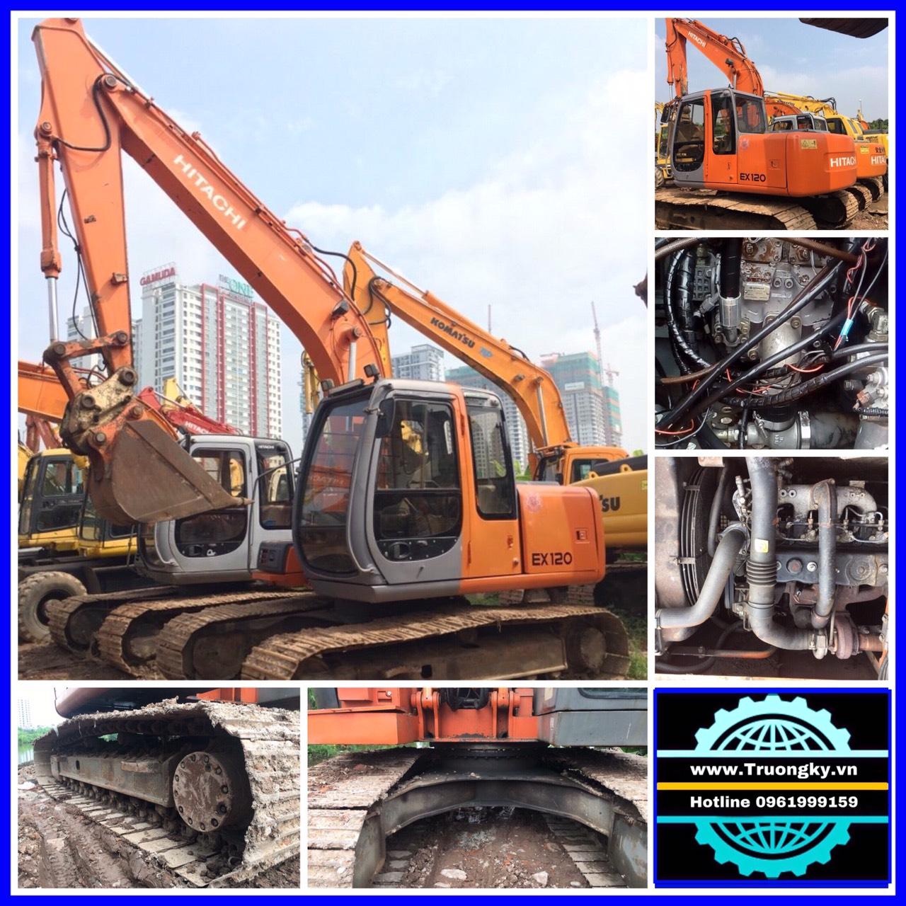 Máy xúc đào Hitachi EX120-5