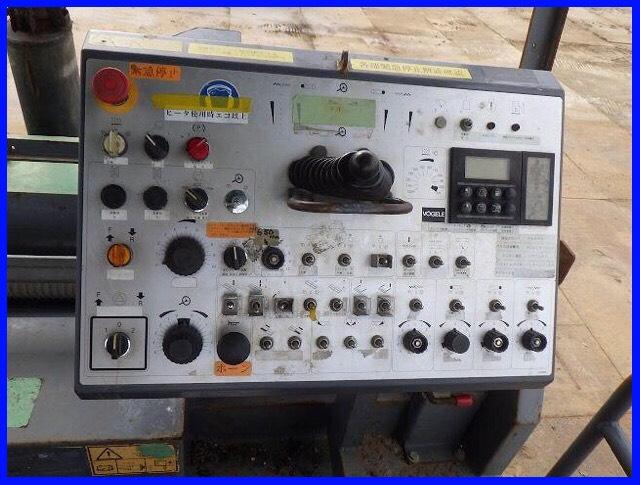 máy rải Vogele 1900 bàn là 3-6 mét phím cơ (SOLD)