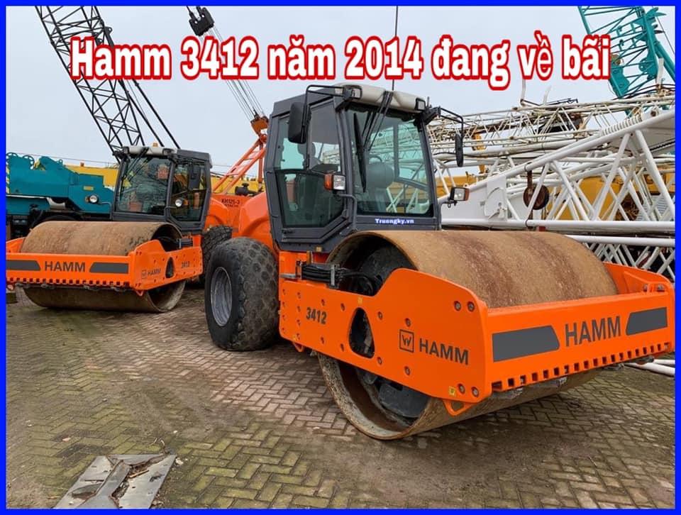 Lu rung Hamm 3412 mới về bãi (SOLD)