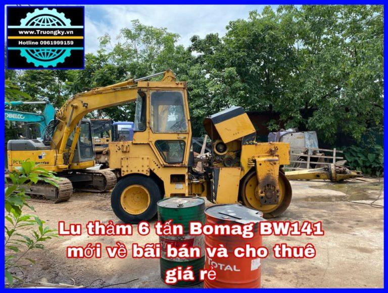 xe Lu 6 tấn Bomag BW141AC (SOLD)