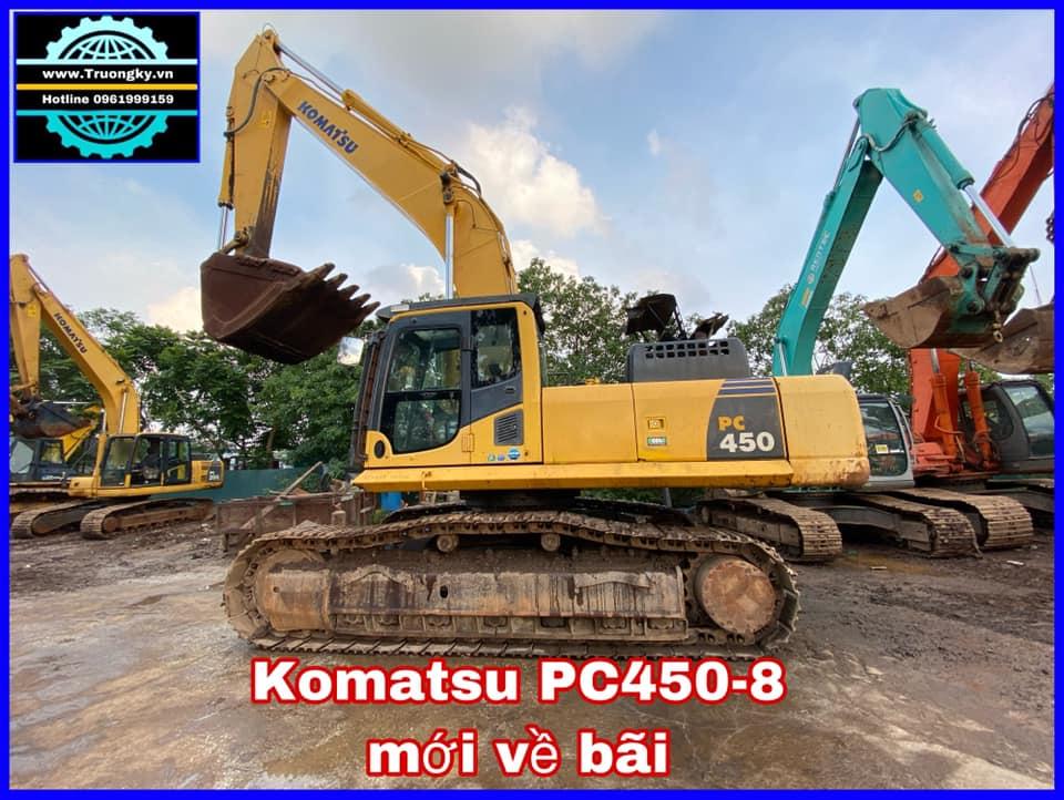 Máy xúc Komatsu PC450-8 (SOLD)