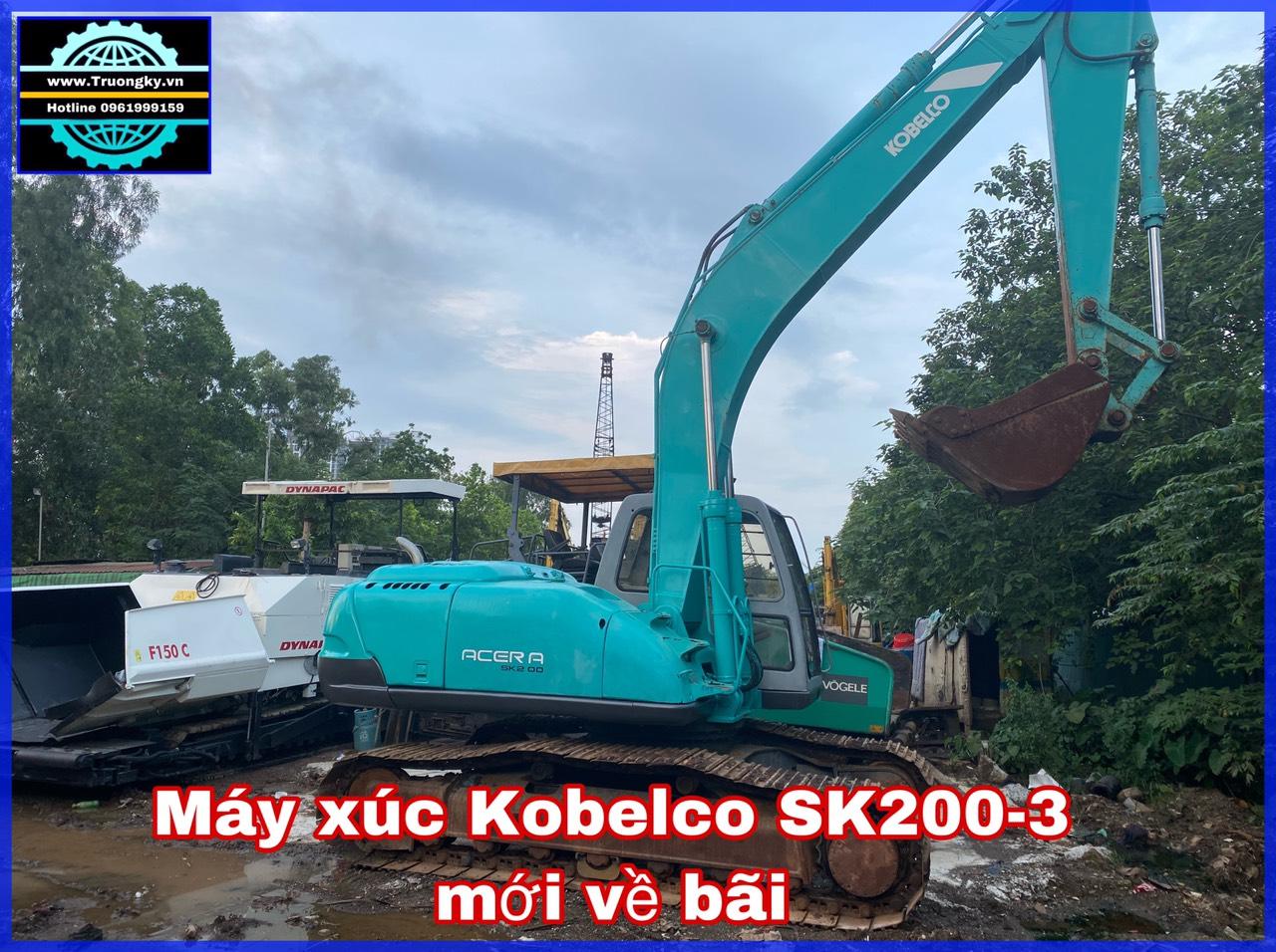Máy xúc Kobelco SK200-3 (SOLD)