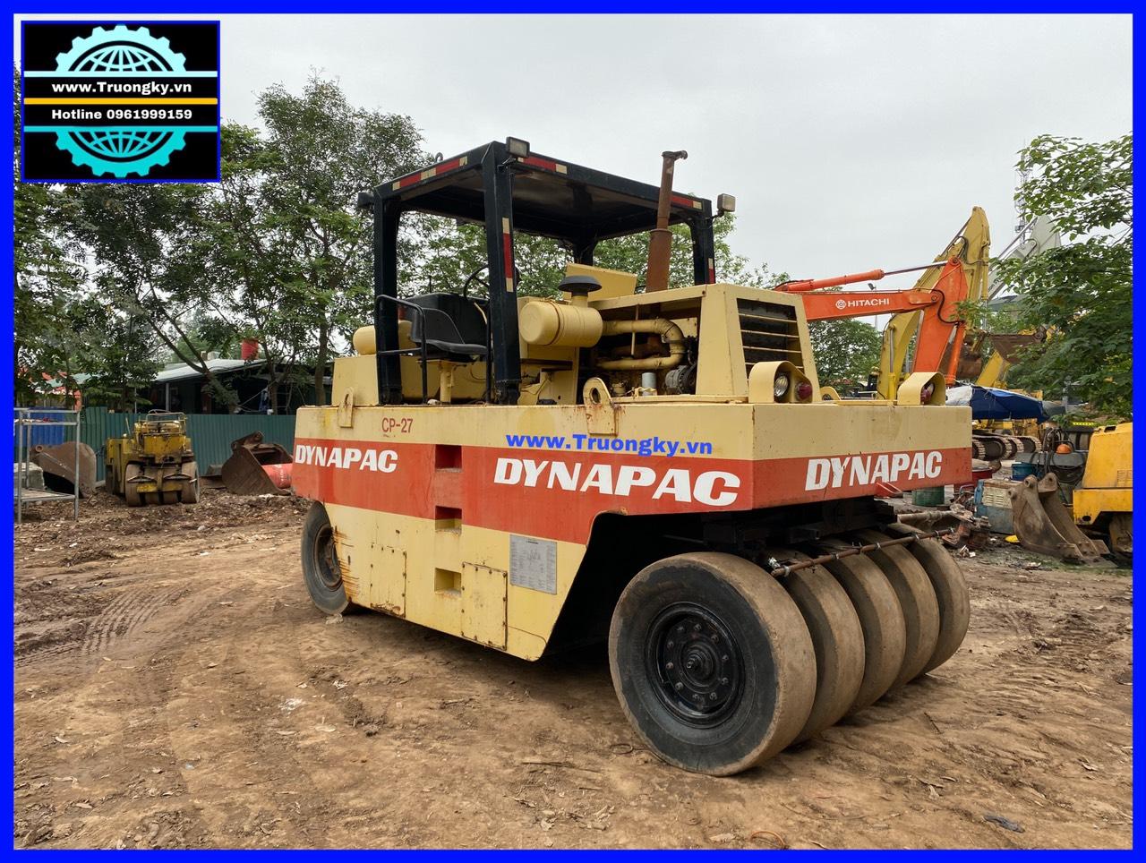 Lu lốp 27 tấn Dynapac CP27 đã bán