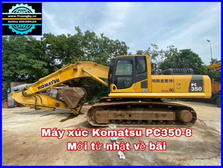 Máy xúc Komatsu PC350-8 (SOLD)