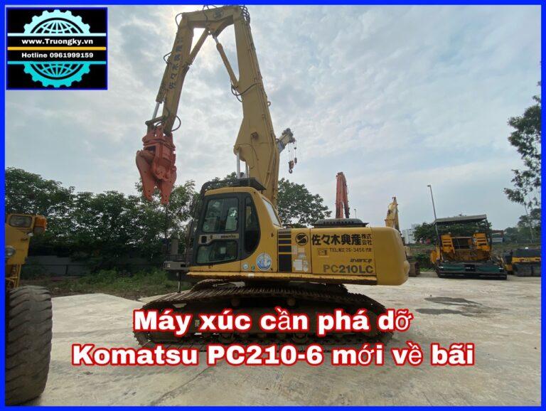 Máy xúc cần phá dỡ Komatsu PC210-6 (SOLD)