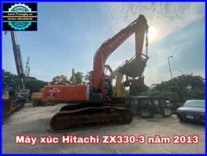 Máy Xúc Hitachi ZX330-3 đời 2013 mới về bãi