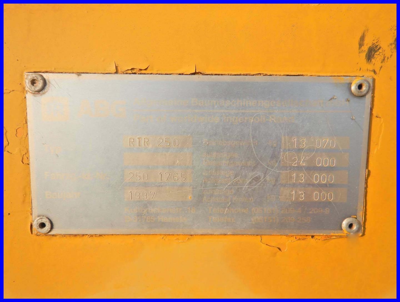 Lu lốp 24 tấn ABG 250 mới về bãi giá rẻ